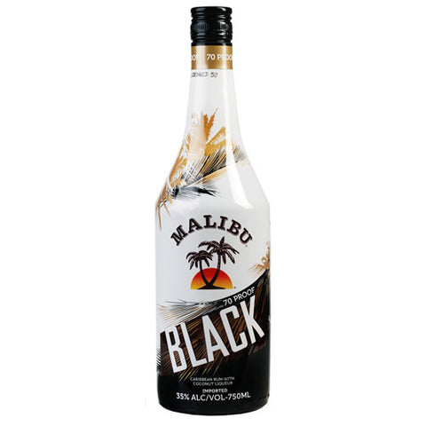 Malibu Black Caribbean Rum (750ml)