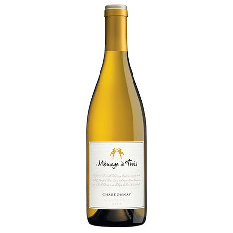 Menage a Trois Chardonnay, California, 2016 (750ml)