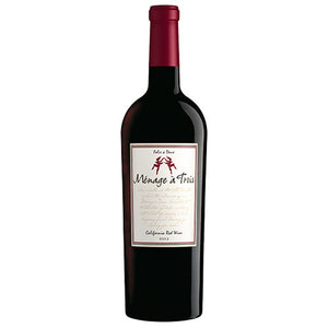 Menage a Trois Red Blend, California, 2017 (750ml)