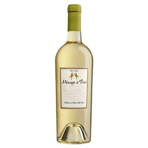 Menage a Trois White Blend, California, 2016 (750ml)