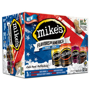 Mike's Party Pack Variety (12pk 12oz cans)