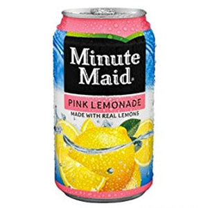 Minute Maid Pink Lemonade (12pk 12oz cans)