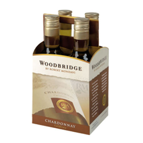 Mondavi Woodbridge Chardonnay, California, 4pk (187ml btls)