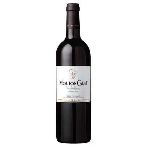 Baron Philippe de Rothschild Mouton Cadet Red, Bordeaux, France, 2015 (750ml)