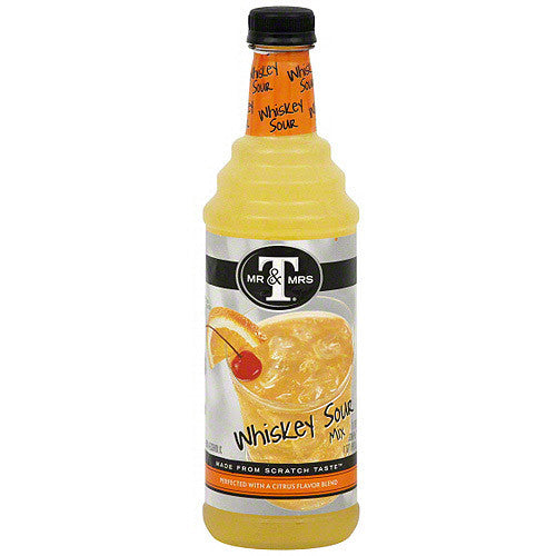 Mr & Mrs T Whiskey Sour Mix (non-alcoholic 1L)