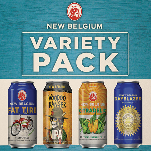New Belgium Variety Folly Pack (12pk 12oz cans)