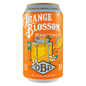 Orange Blossom Pilsner (6pk 12oz cans)