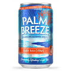 Palm Breeze Ruby Red Citrus Sparkling Alcohol Spritz (6pk 12oz cans)
