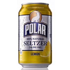 Polar Seltzer Lemon (4pk 12oz cans)