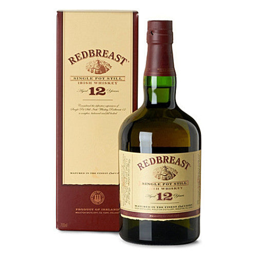 Redbreast 12 Year Old Single Pot Still Irish Whiskey (750ml)