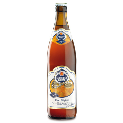 Schneider Weisse Tap 7 Mein Original (16.9oz single bottle)