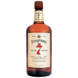Seagrams 7 Crown Blended Whiskey (1.75L)