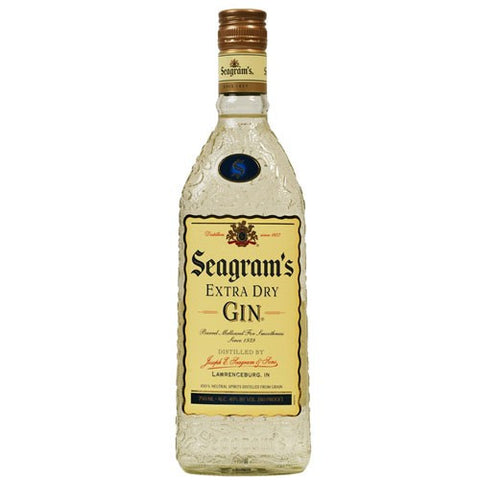 Seagrams Gin Extra Dry (750ml)
