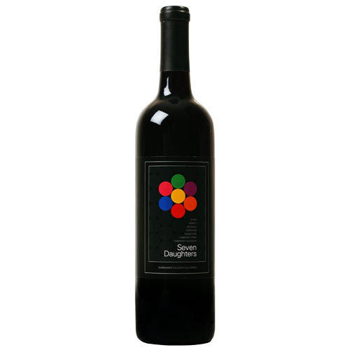 Seven Daughters Rich Red Winemaker's Blend, California, 2013 (750ml)