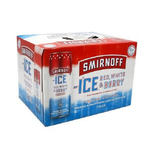 Smirnoff Red, White & Berry 12pk Cans