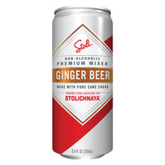 Stoli Ginger Beer (4pk 12oz cans)