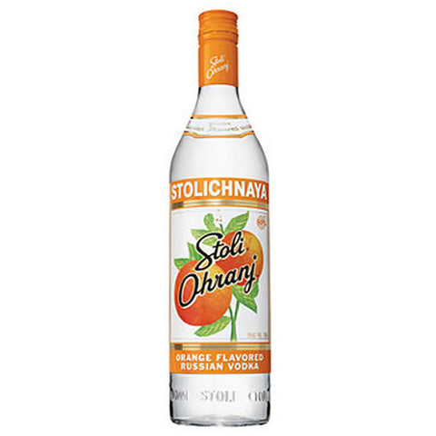 Stolichnaya Ohranj Orange Vodka (750ml)