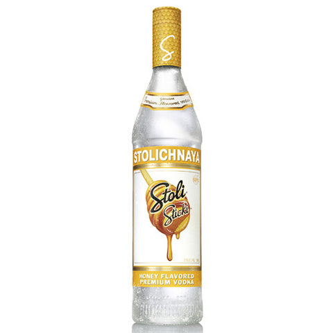 Stolichnaya Sticki Honey Vodka (750ml)