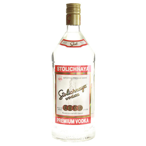 Stolichnaya 80 Proof Vodka (1.75L)