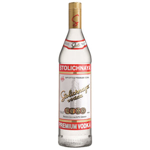 Stolichnaya 80 Proof Vodka (750ml)