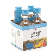 Sutter Home Pinot Grigio, California, 4pk (187ml btls)