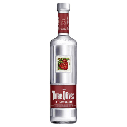 Three Olives Strawberry Vodka (750ml)