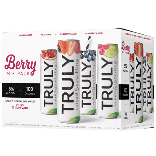 Truly Berry Hard Seltzer Variety Pack (12pk 12oz cans)