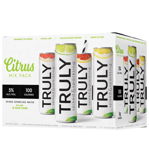 Truly Citrus Hard Seltzer Variety Pack (12pk 12oz cans)