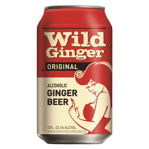 Wild Ginger Original Alcoholic Ginger Beer (6pk 12oz cans)