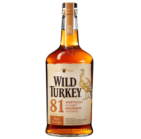 Wild Turkey 81 Kentucky Straight Bourbon Whiskey (1.75L)