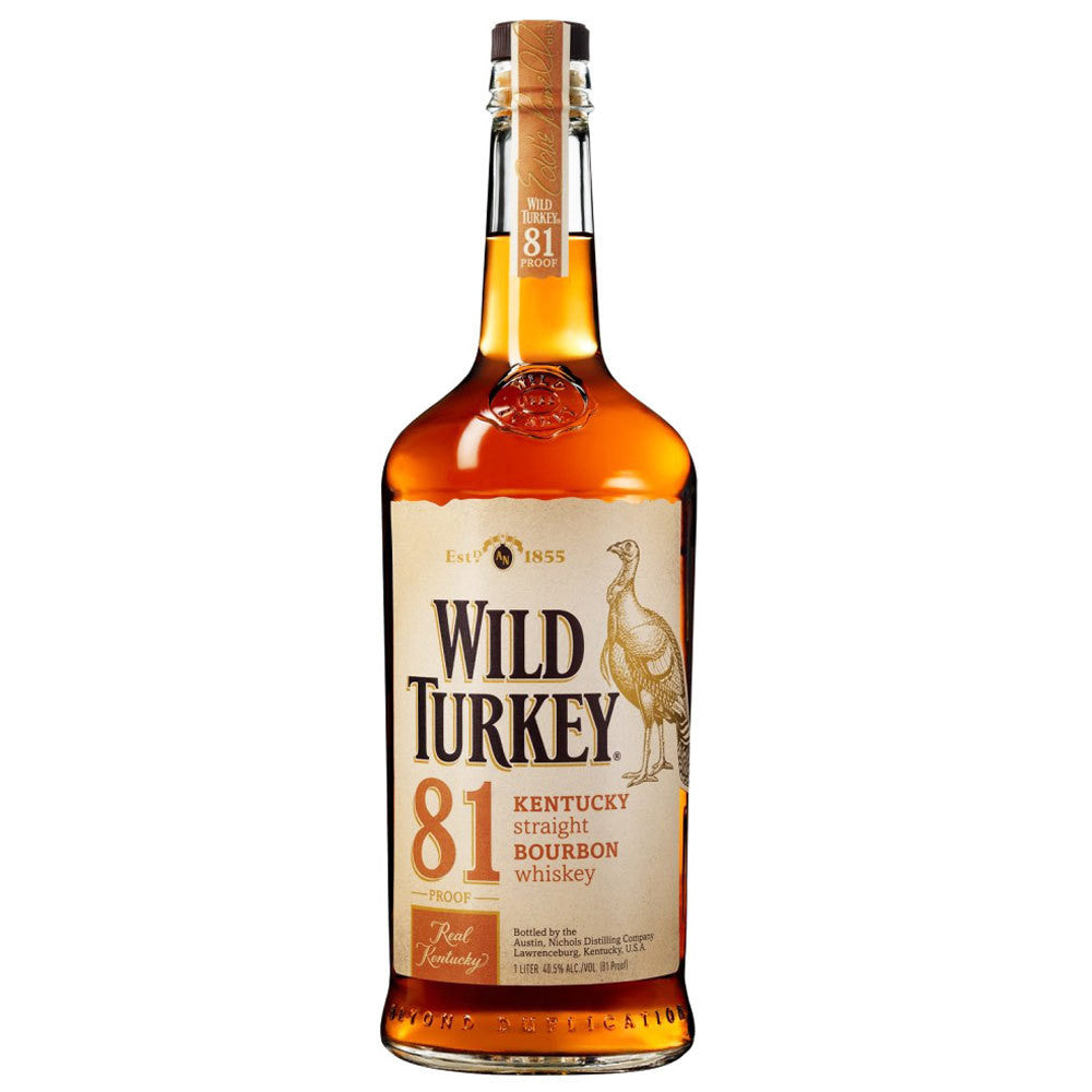 Wild Turkey 81 Kentucky Straight Bourbon Whiskey (750ml)