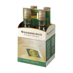 Mondavi Woodbridge Pinot Grigio, California, 4pk (187ml btls)