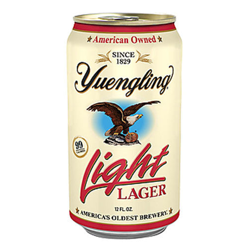 Yuengling Light Lager (12pk or 24pk 12oz cans)