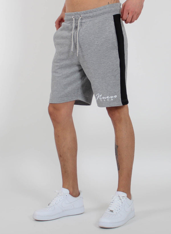 PANEL SHORTS - GREY/BLACK