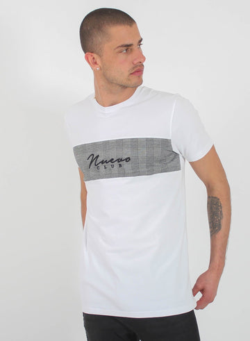 PRINCE OF WALES TEE - WHITE