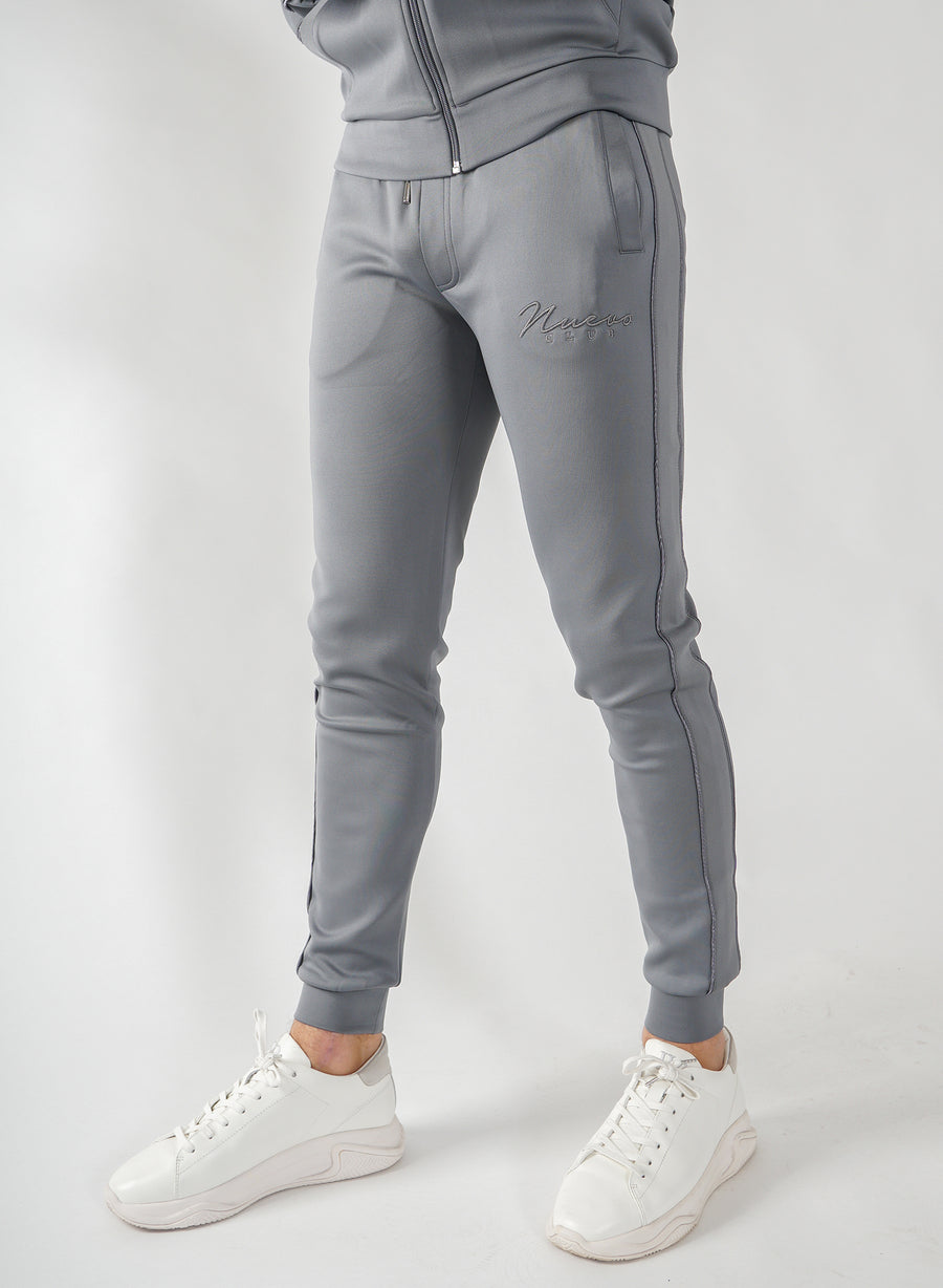 STEALTH TRACK PANTS - STEEL GREY