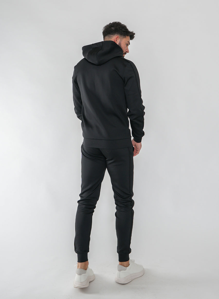 STEALTH TRACK TOP - BLACK