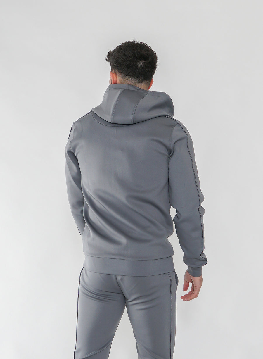 STEALTH TRACK TOP - STEEL GREY