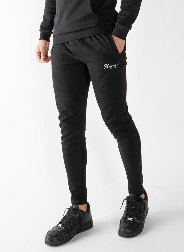 BELLWOOD TRACK PANTS - BLACK