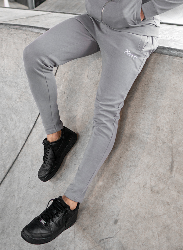 BELLWOOD TRACK PANTS - STEEL GREY