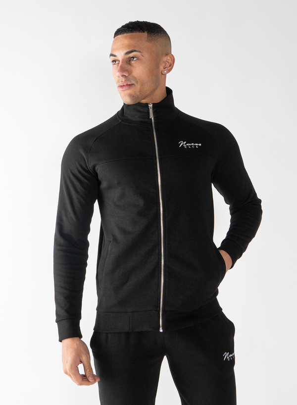 BELLWOOD TRACK TOP - BLACK