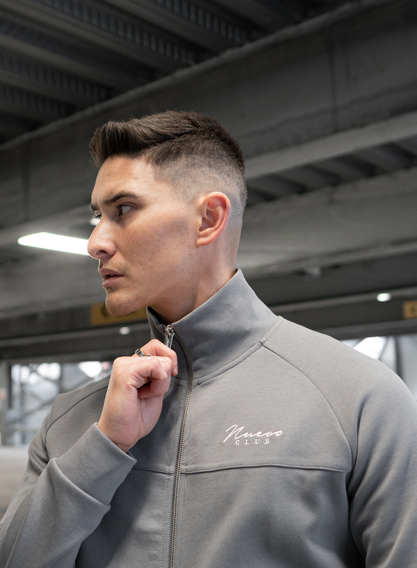 BELLWOOD TRACK TOP - STEEL GREY