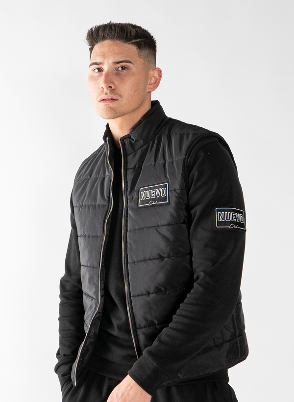 MORGAN GILET - BLACK