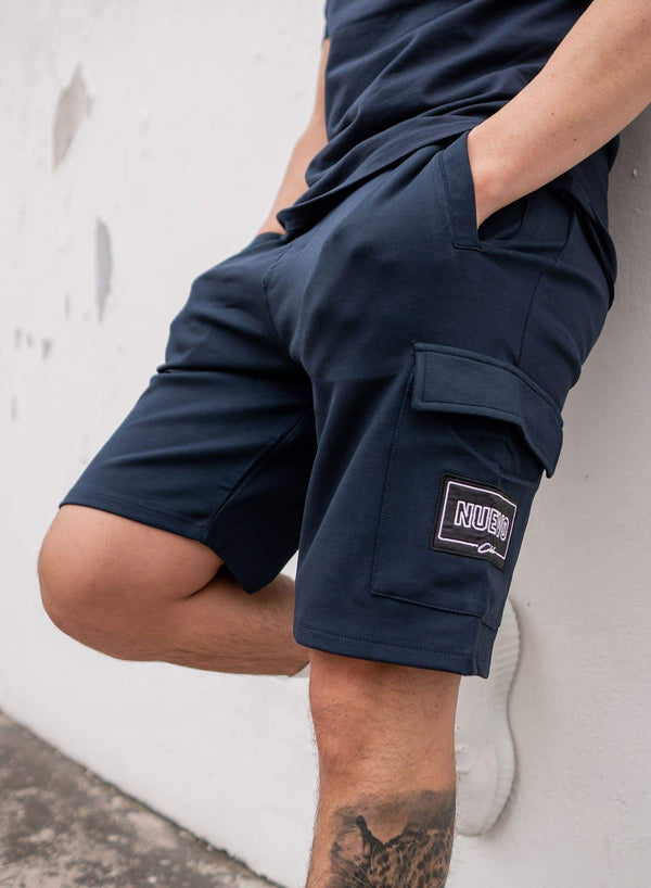 MORGAN SHORTS - NAVY