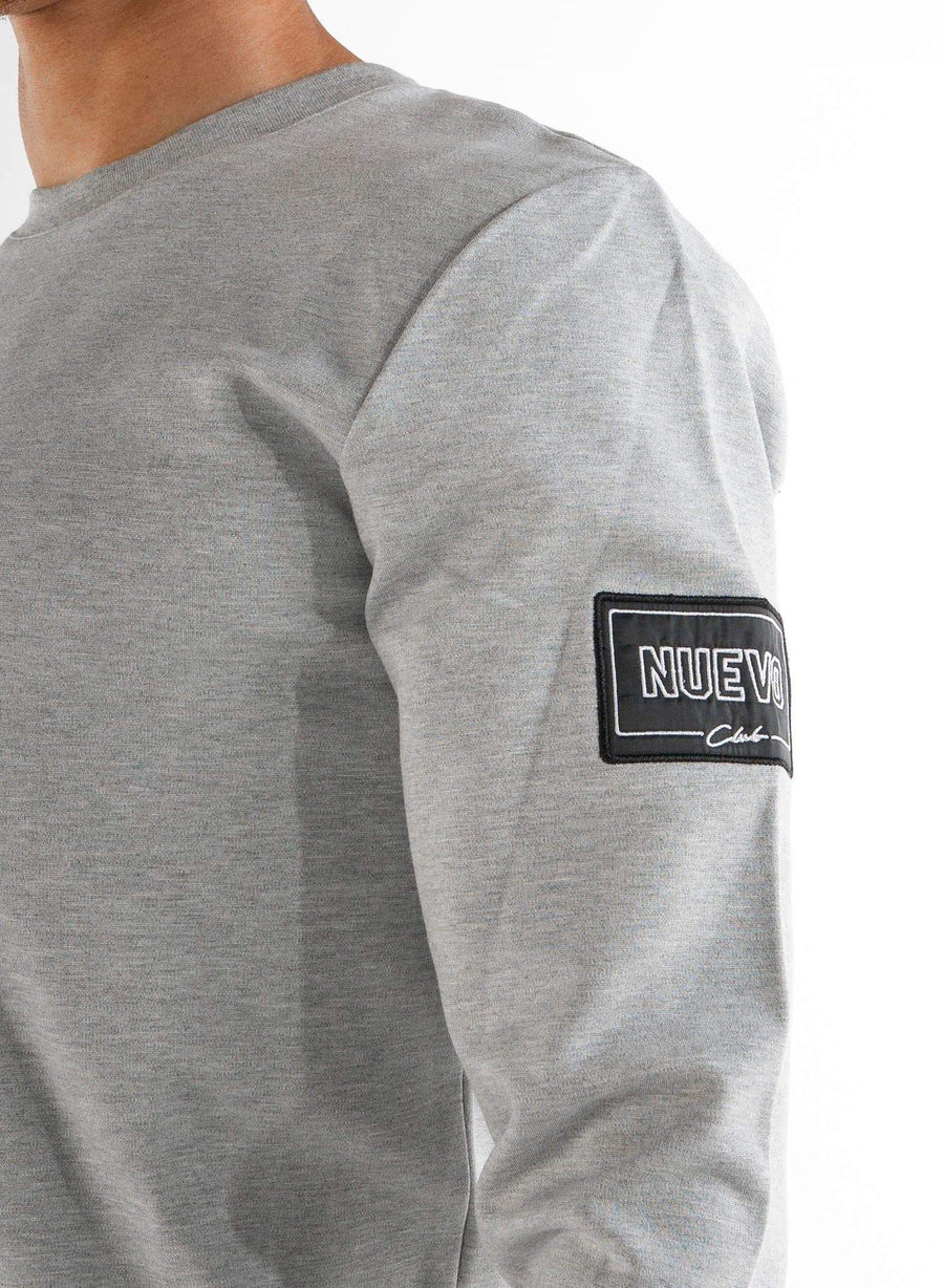 MORGAN SWEATSHIRT - GREY MARL