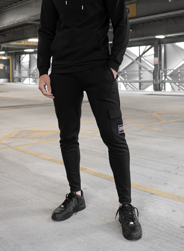 MORGAN CARGO PANTS - BLACK