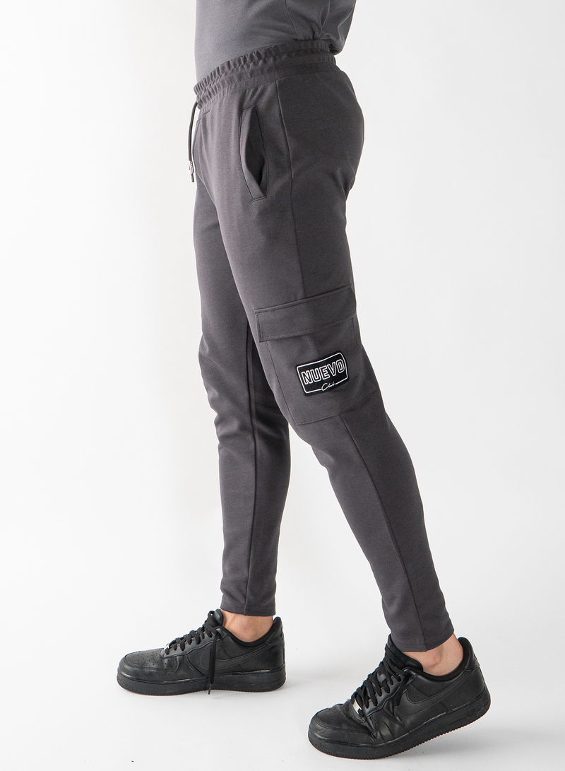 MORGAN PANTS - MAGNET GREY