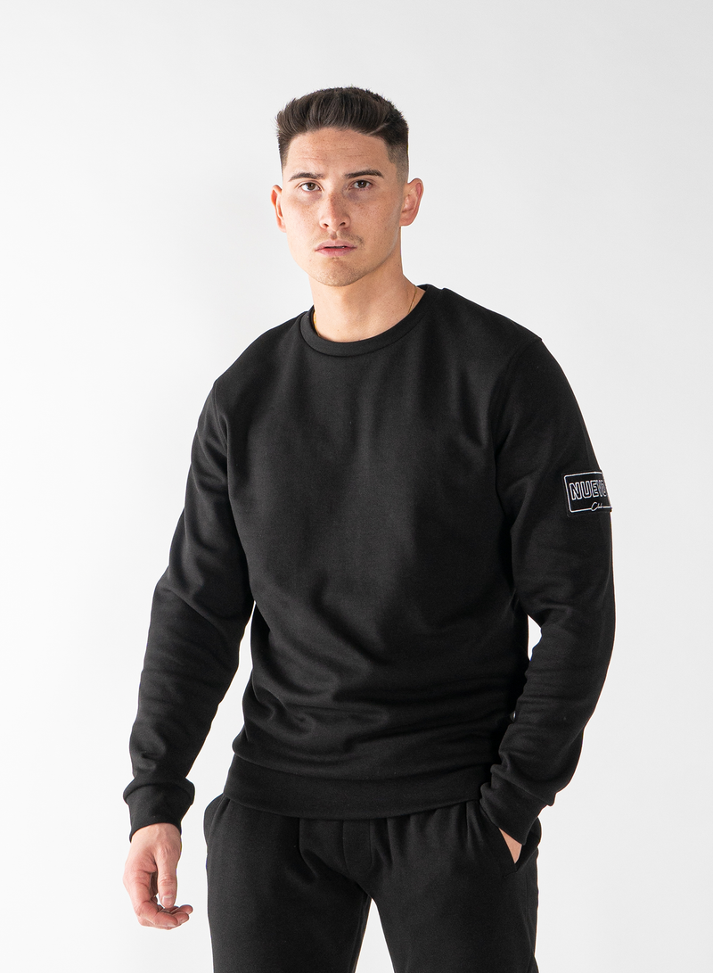 MORGAN SWEATSHIRT - BLACK