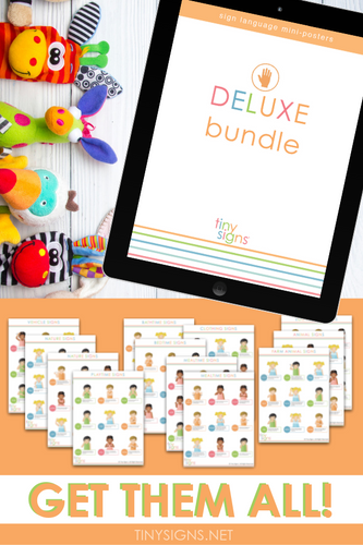 DELUXE Bundle (includes Signing Through the Day, Time to Play, and Fun with Animals Bundles)