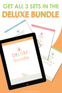 PROFESSIONAL LICENSE: Deluxe Bundle (includes Signing Through the Day, Time to Play, and Fun with Animals Bundles)